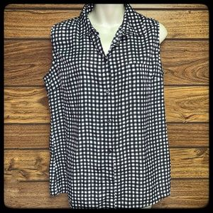 George brand ladies sleeveless top size L 12/14